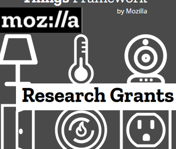 Mozilla Research Grant