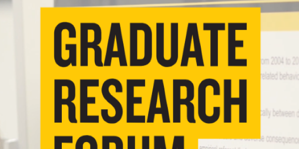Grad Research Forum 2019