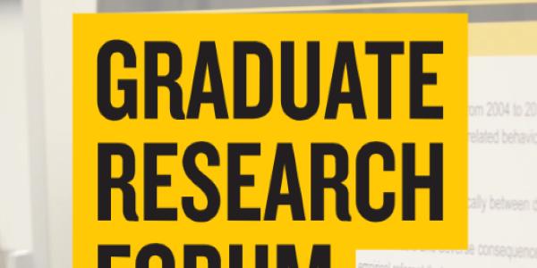 Grad Research Forum 2019